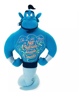 Disney Store Wisdom Aladdin Genio Peluche Nuevo!