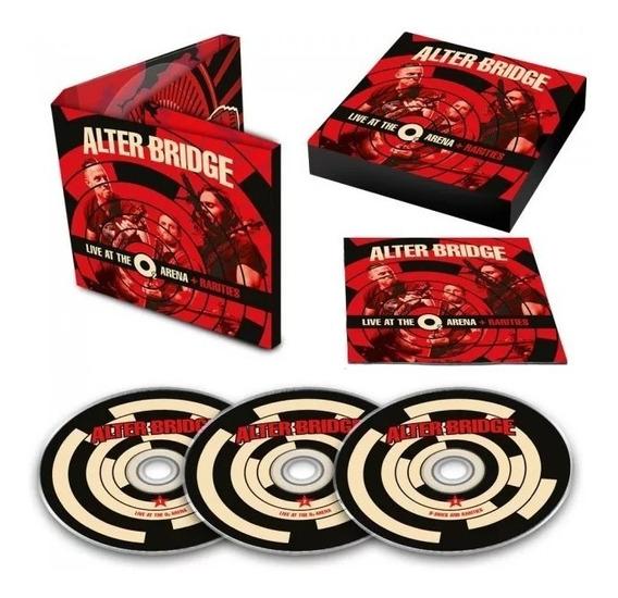 Alter Bridge - Live At The O2 Arena + Rarities ( 3 Cds )
