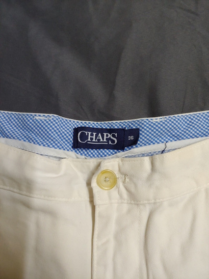 Short Chaps 36 Blanco