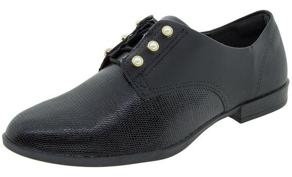 Sapato Feminino Oxford Dakota - B9841 Preto