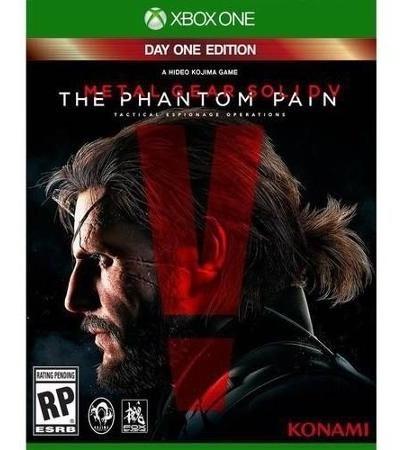 Novo Jogo Metal Gear The Phantom Pain Xbox One Original