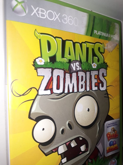 Plants Vs Zombies X Box 360 Midia Fisica