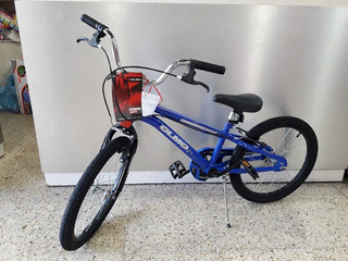 Bicicleta Infantil Olmo Cosmobots R20 Varon Azul