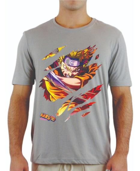 Camisa Naruto Elite Séries Filmes Desenhos Confortáveis