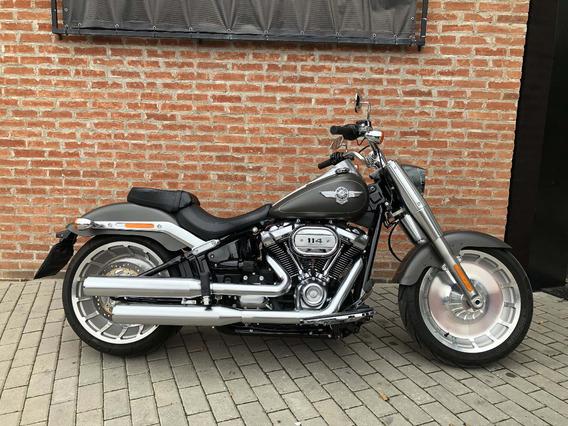 Harley Davidson Fat Boy 114 2019 Impecável