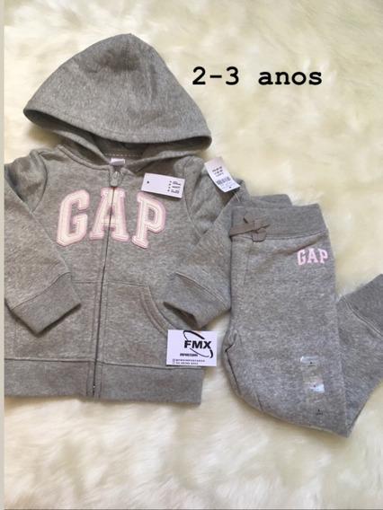 Conjunto Gap Infantil Moletom Calça E Blusa Original