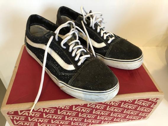 Vans Old School Couro/lona 43 Br 11 1/2 Us