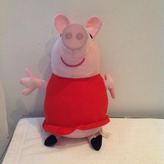 Pelucia Peppa Pig - Estrela - 30 Cm