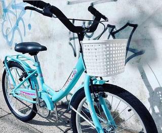 Bicicleta Bassano R20 Vintage Retro Niñas 7 A 9 Años