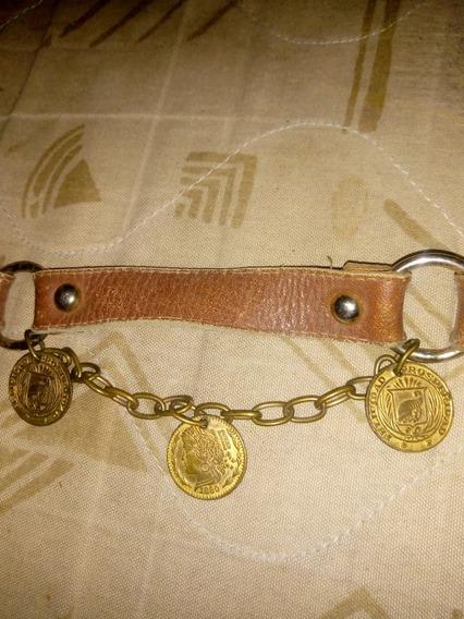 Cinturon Con Medalla Antiguas De 1880