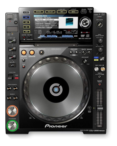 Cdj 2000 Nexus Pioneer Rekordbox - S/caixa Orig.s/acessorios
