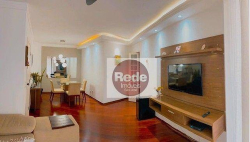 Imagem 1 de 11 de Apartamento À Venda, 104 M² Por R$ 585.000,00 - Jardim Aquarius - São José Dos Campos/sp - Ap4184