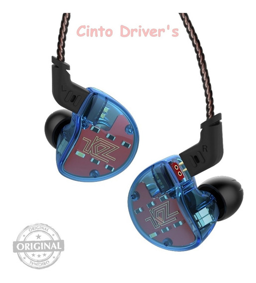 Fone In Ear Kz Zs10 - Cinco Driver