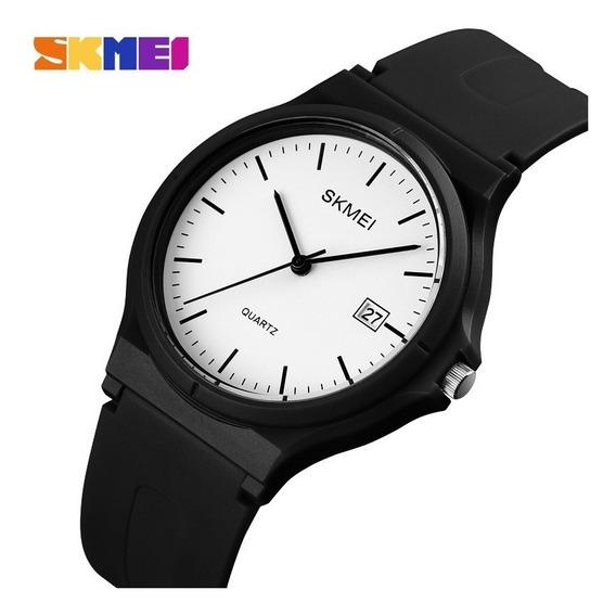 Relógio Feminino Preto Cores Original + Garantia + Caixinha