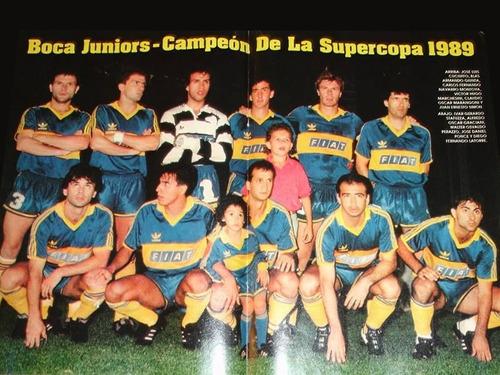 Resultado de imagem para boca juniors 1989