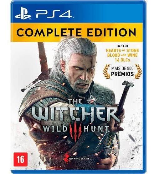The Witcher 3 Edição Completa - Ps4 - Jogo Midia Fisica