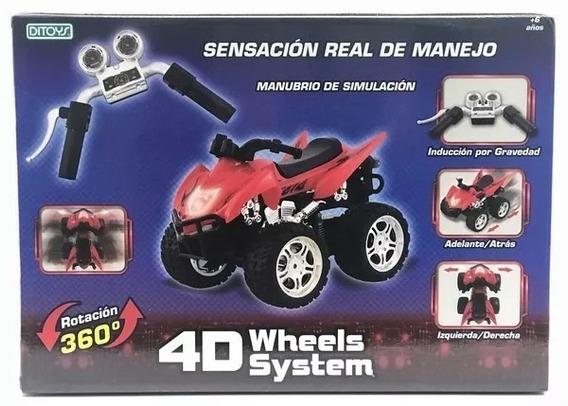 Cuatriciclo 4d Wheels System Jugueteria Marruecos Rosario
