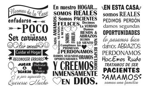 Frases Decorativas Para El Hogar, Oficina, Trabajo.