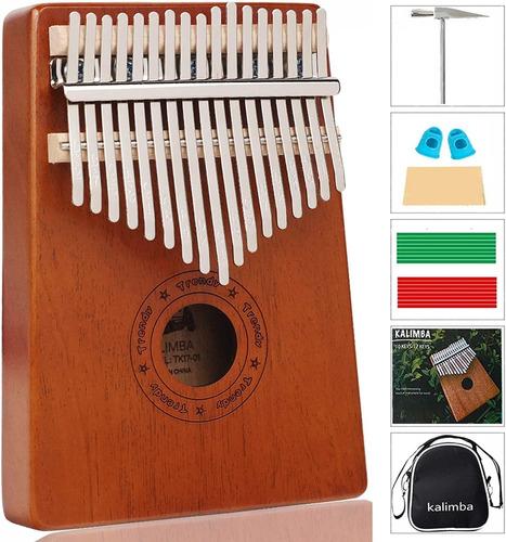 Kalimba, El Dedo Pulgar Piano17 Clave De Piano Instrumento