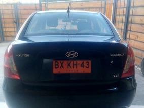 Taxi Hyundai Accent 1,6 Año 2011, Único Dueño,recibo Ofertas