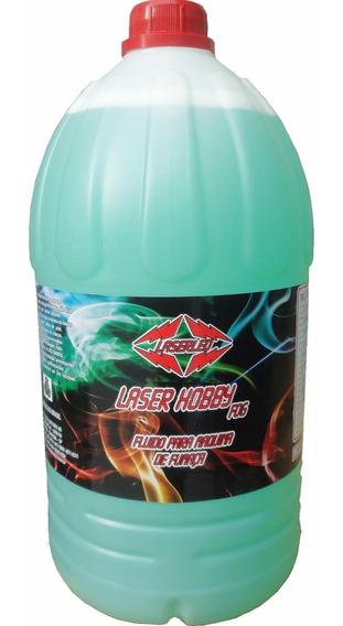 Liquido Carga De Fumaça Laser Hobby Fog 5 Litros Laserled