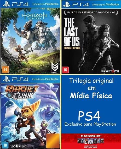 Playstation 4 | Trilogia Original - Mídia Física + Bônus