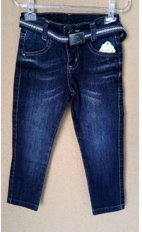 Calça Jeans Infantil Skinny Para Meninos Tam-1/2/3-2325