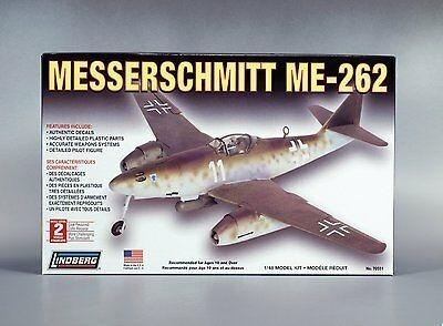 Imagen 1 de 3 de Avión Lindberg Messerschmitt Me-262 1/48 Scale Model Kit