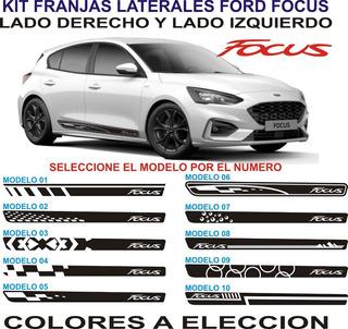Franjas Laterales Para Autos Ford Focus - Graficastuning