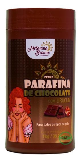 Parafina De Chocolate Com Urucum Melanina Bronze 1 Kg