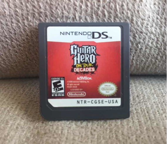 Guitar Hero On Tour Decades Ds - Nintendo Ds