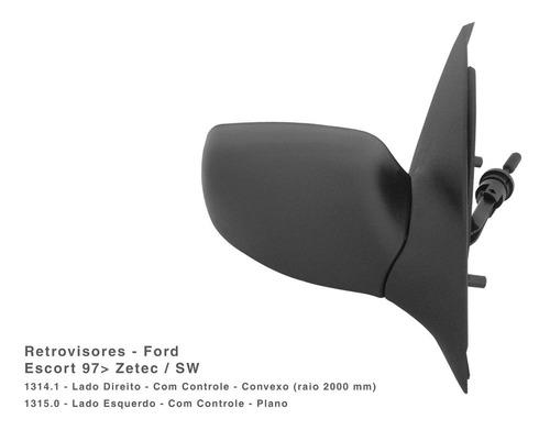 Espejo Izquierdo Ford Escort 97... C/control Cofran