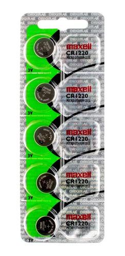 Pila Maxell Cr1220 Litio 3 Volts En Blíster Sellado