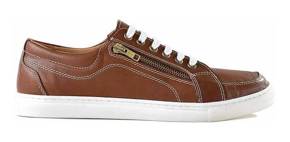 Zapatilla Zapato Confort Cuero Hombre Briganti Hczp14148 1