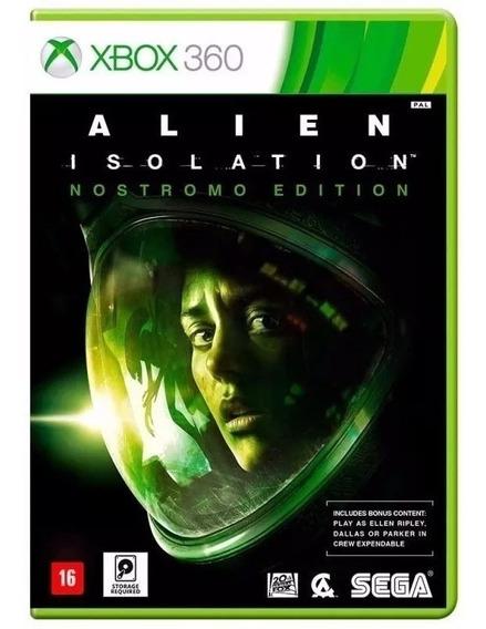 Alien Isolation Xbox 360 Mídia Física Novo Original