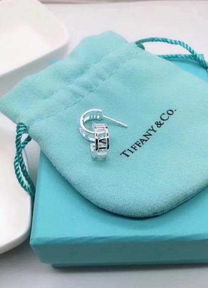 Brinco Tiffany Tiff Argola Prata C/ Embalagem