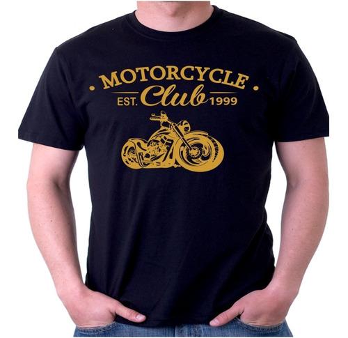 Camiseta Camisa Moto Clube Motociclista Motoqueiro Fem E Mas