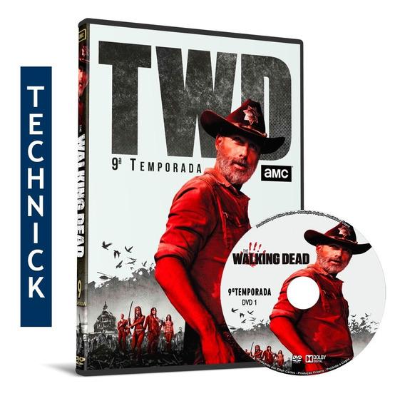 Dvd Box The Walking Dead 9ª Temporada Completa Dublada