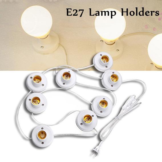 8/10/12 Lamp Titular Pvc 220v Aparador Fazer -up Espelho Bul