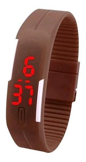 Relógio Digital Esportivo Bracelete Led Unissex -03 Unidades -oferta