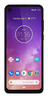 Smartphone Motorola One Vision 128gb Câmera 48+5mp