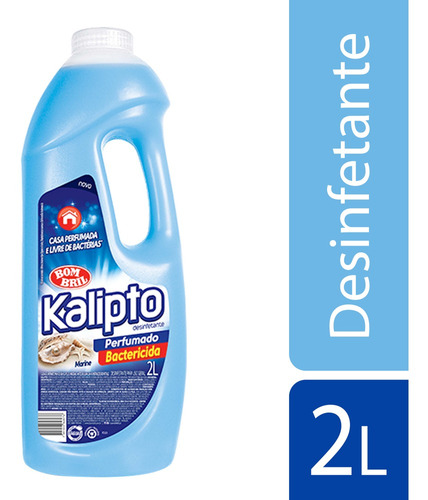 Imagem 1 de 1 de Desinfetante Kalipto Marine 2l