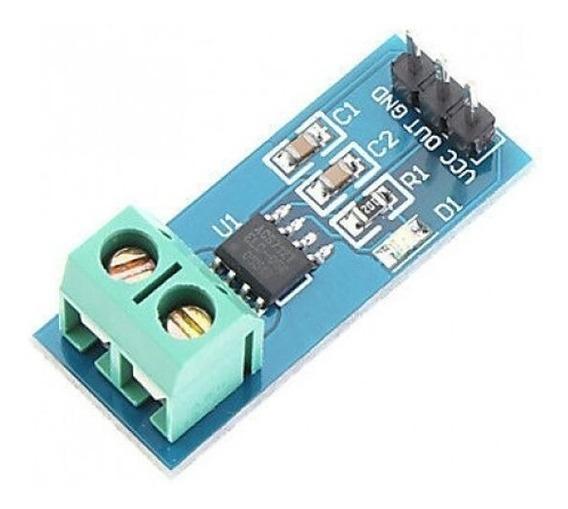 Sensor De Corrente Acs712 Telc-05b 5a Sensor Efeito Hall