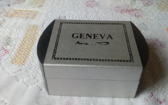 Conjunto Geneva Relógio E Óculos 24262 - Ler Toda Descrição.