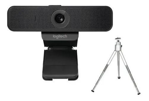 Webcam Logitech C920 Hd Pro Full Hd 1080p C/ Tripé Dedicado