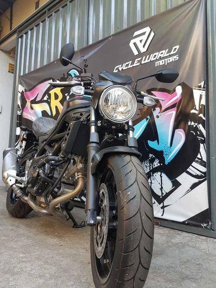 Moto Suzuki Sv 650 V-twin Naked 0km 2018 Llevala Al 22/02