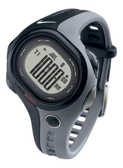 Relógio De Pulso Nike Triax Fury 50 Regular - Preto/cinza