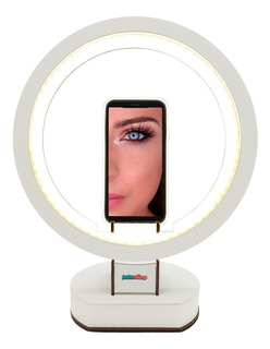 Led Ring Aro Luz Celular Tablet Maquillaje Selfie Video Foto