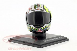 Casco Suomy Loris Capirossi Moto Gp 2011 Moto Coleccion