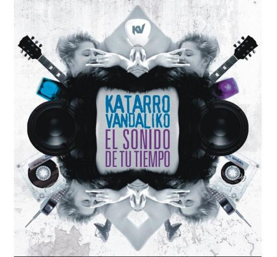 Cd Katarro Vandaliko El Sonido De Tu Tiempo (2011)